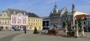 central square in kolin